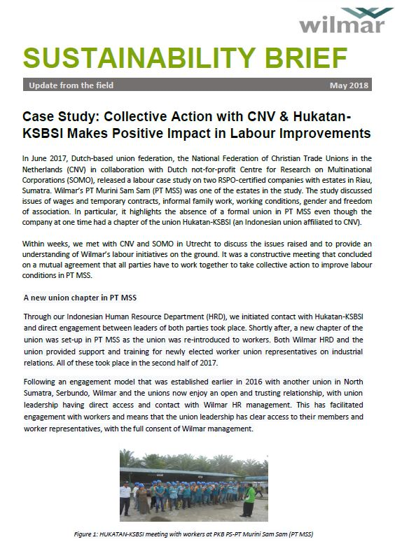 Collective Action with CNV
